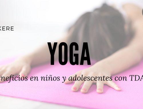 Yoga – beneficios en niños y adolescentes con TDAH