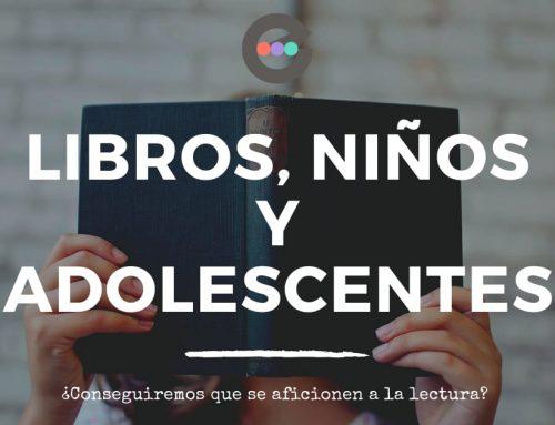 Libros, niños y adolescentes.