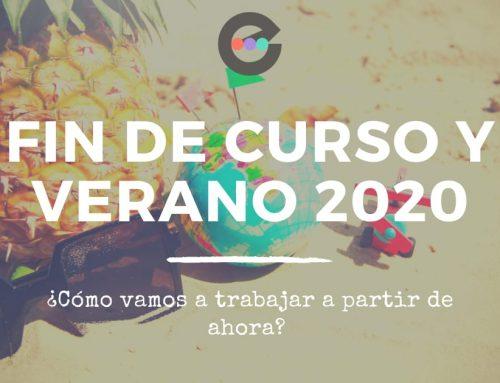 Fin de curso y verano 2020